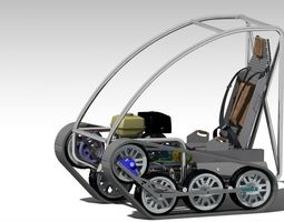 3D Personal Tracked Vehicle
