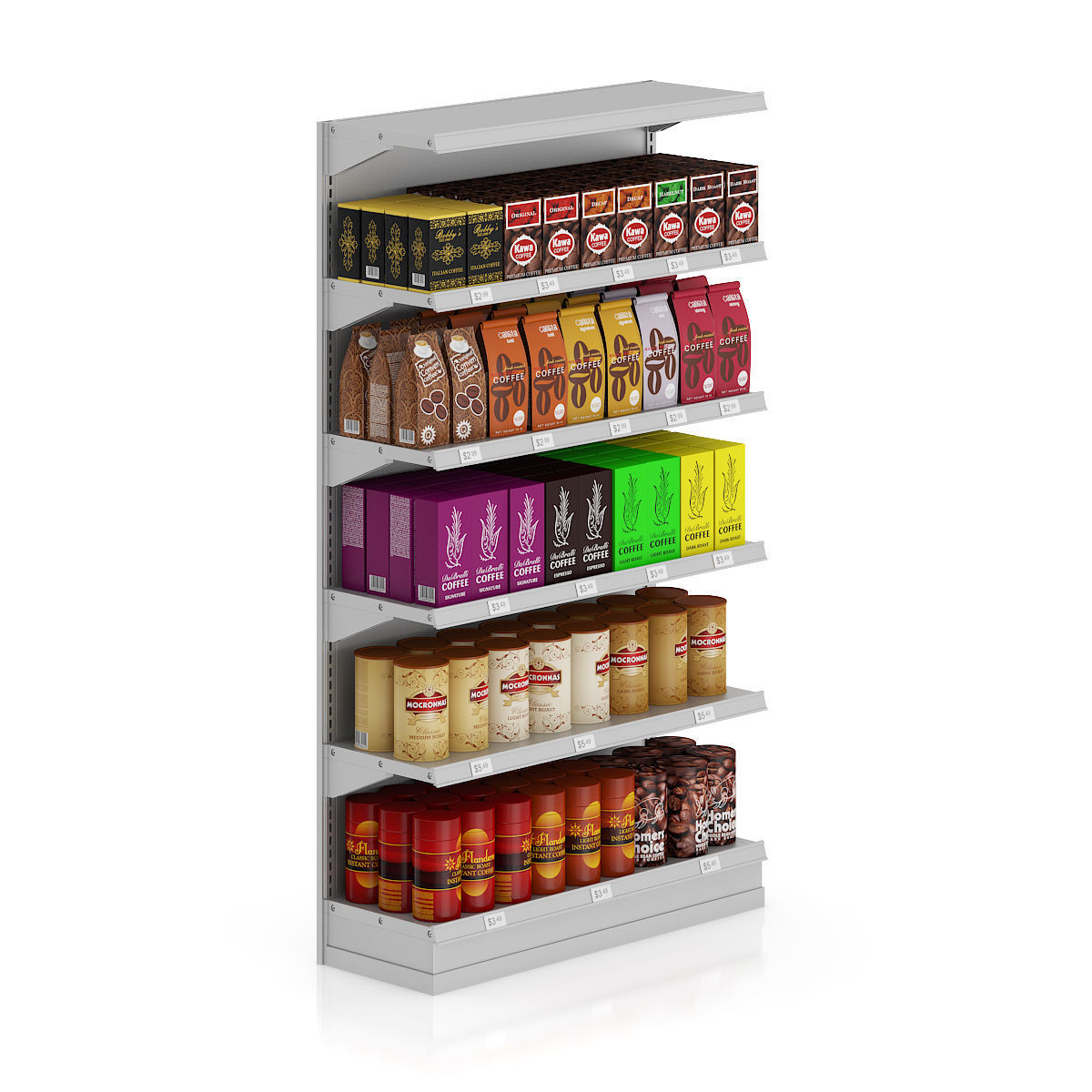 Market Shelf - Coffees