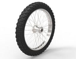 Generic Motorcycle wheel 3D
