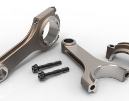 Connecting rod H profile 3D