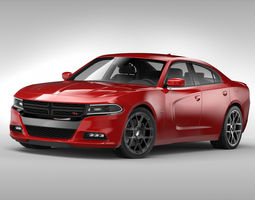 Dodge Charger 2015 3D model