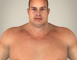 3D Realistic Fat Man
