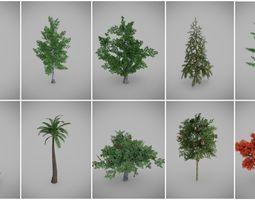 Tree Variety Pack 3D model