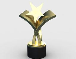 Award Trophy 2 3D
