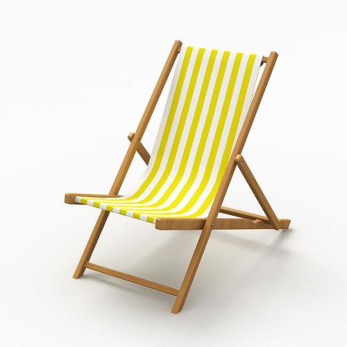 beach chair 3 3d model max obj mtl 3ds fbx 1