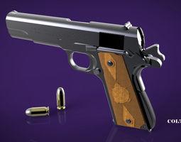 3D model armor Colt M1911