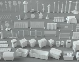 3D Environment Units-part-2 - 67 pieces