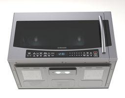 3D Wall-mounted microwave oven Samsung MC17J8000
