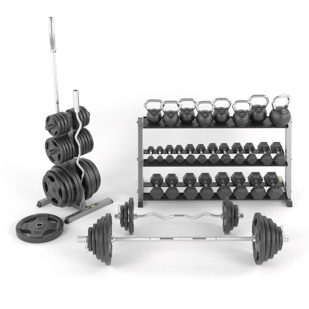 Gym Weights set  Body-Solid