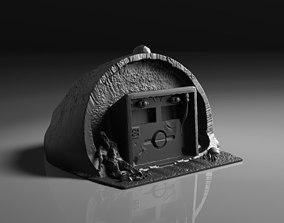 3D printable model Underground Bunker Entrance Terrain