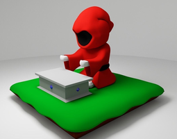 3D print model Mage phone holder