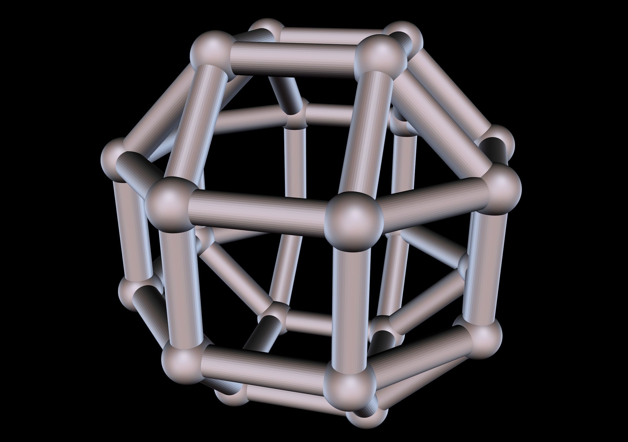 032 Mathart-Archimedean Solids-Small Rhombicuboctahedron 02-10cm