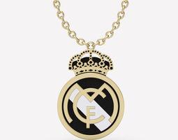 Pendant Real Madrid 3D print model