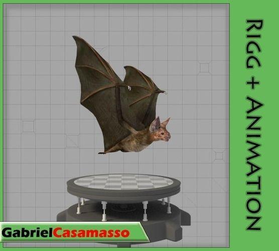 vampire bat 3d model fbx blend 1
