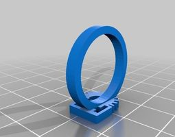 3d printable model ringling a ring for all mechatronics lovers