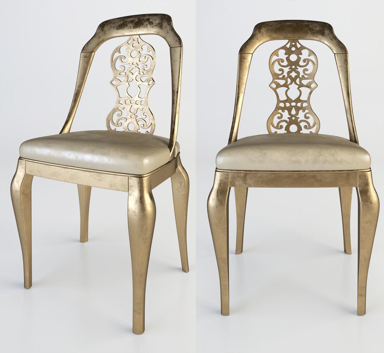 Chair Giusti portos | 3D model