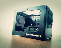 replicator 2 side panels 3d print model