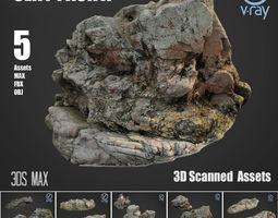 Cliff pack A Bundle 3D asset realtime