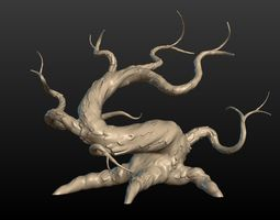 Dried Tree 3D print model