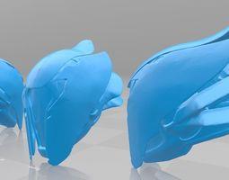 Destiny 2 beta wartlock helmet Ego Talon IV 3D print model