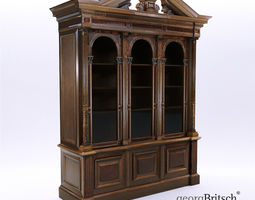 Historicism bookcase - South Germany 1880 - Georg 3D