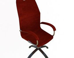 office-chair chef 3D model Chair