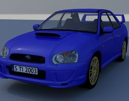 Subaru Impreza STI 2003 3D