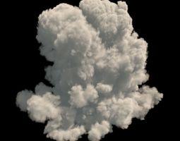 Realistic 3d cloud VDB format