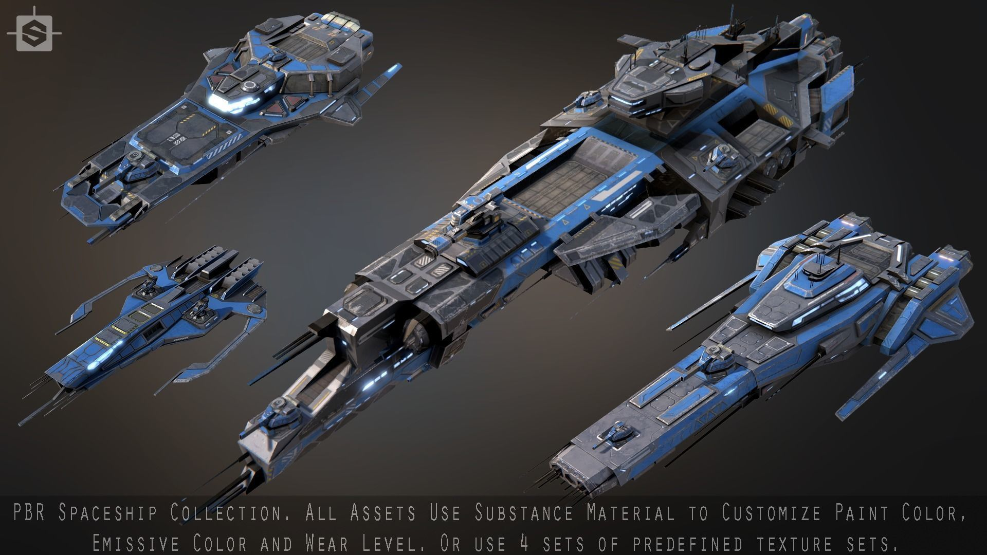 Spaceship Collection | 3D model