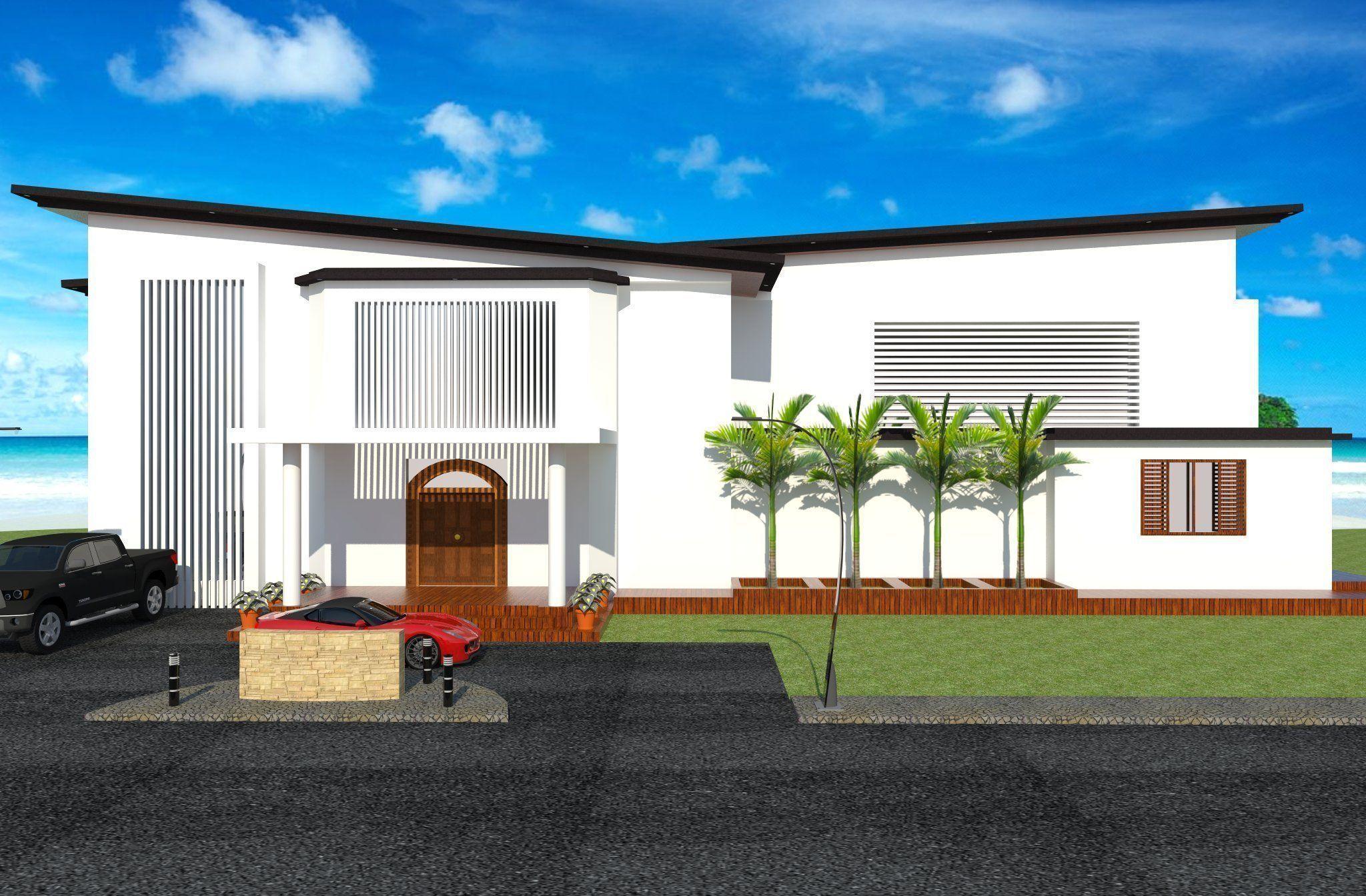 Beach house design 3d model for House designs 3d model
