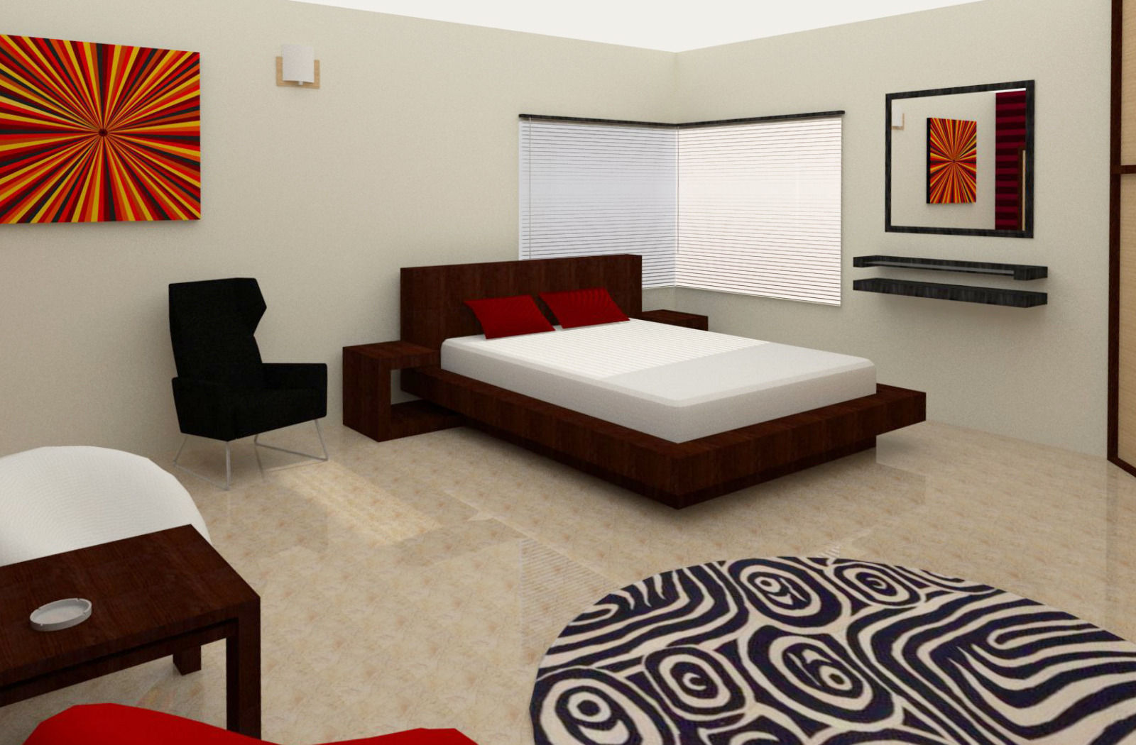 Simple Room Interior