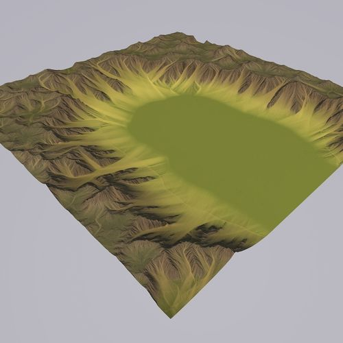 lowpoly valley mth062 3d model max obj mtl 3ds fbx c4d blend 1