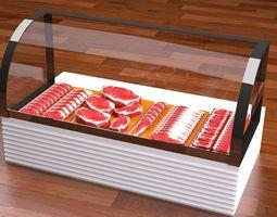 meat refregerator 3D model