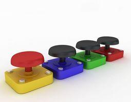 Buttons 3D