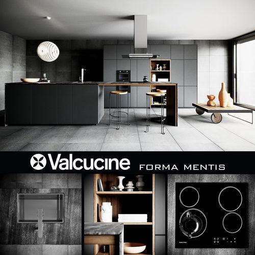 Valcucine Forma Mentis Dark 3d Cgtrader