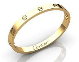 Bracelet Gold 2 3D printable model