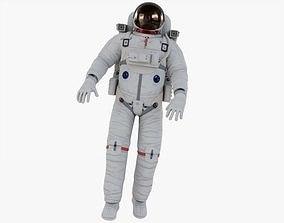 3D model VR / AR ready Astronaut Rigged Animated