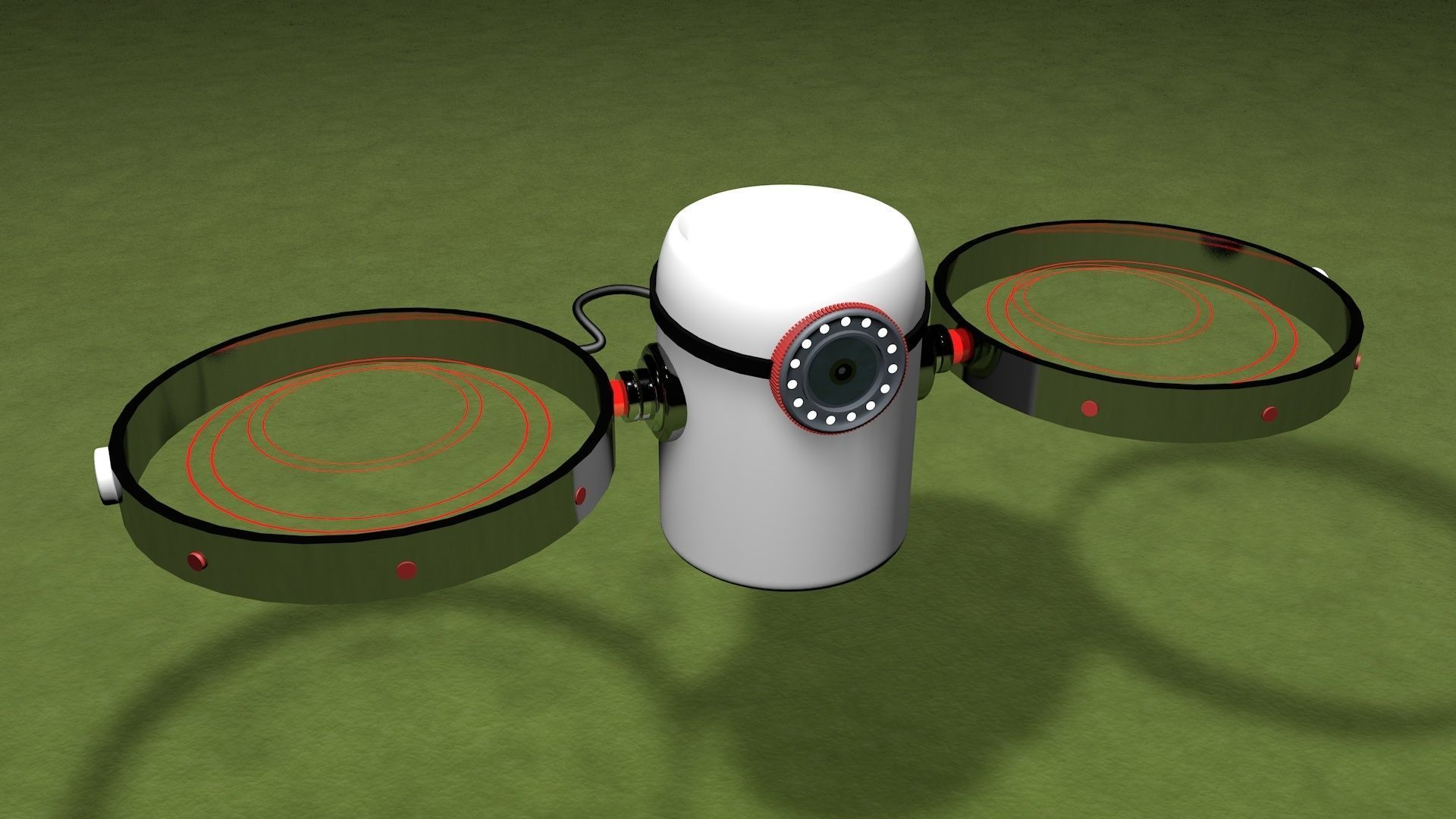 Drone Thermal Powered 3D Modeling | 3D model