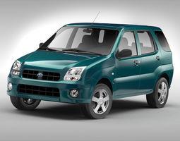 Subaru G3X Justy 2004 - 2007 3D