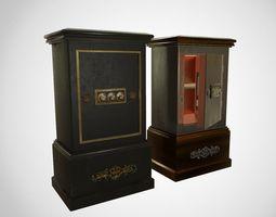 3D model Antique safe