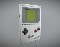 Worn Original Gameboy 3D asset realtime