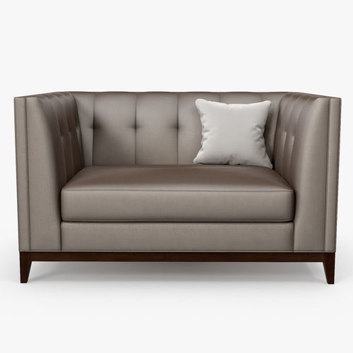 The Sofa And Chair Company   Alexander One And A Half Seat Sofa 3D Model