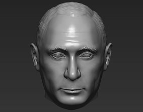 3D model Vladimir Putin standard version only mesh