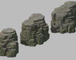 3D Tongtianhe - Quartet stone 03