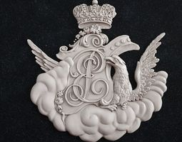 3D printable model coat of arms 1