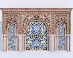 3D Islamic arches