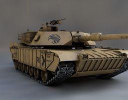 MBT M1A2 Abrams 3D PBR