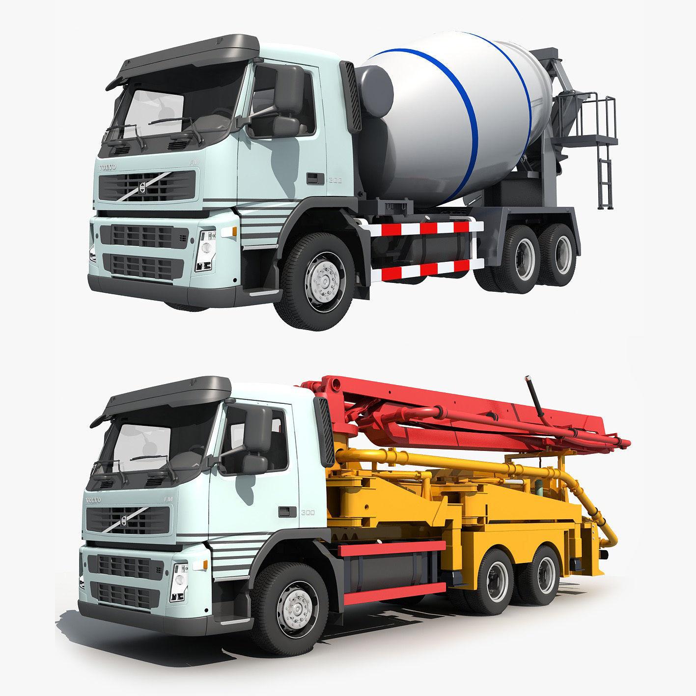 Collection Cement Mixer Concrete pumper