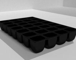 3D print model Seed trays
