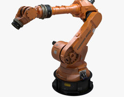 3D Factory Robotic Arm